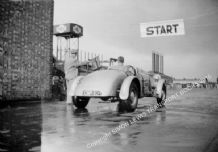 "Spikins Special. F.R.G. ""Bob"" Spikins. AEC Southall Speed Trial 1937"